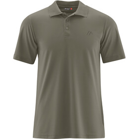 Maier Sports Ulrich Polo Shirt Men dusty olive